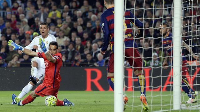 Роналду обошел Рауля по числу голов в Класико