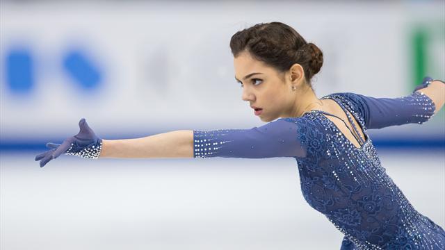 Medvedeva championne d'Europe, Kostner fissure l'hégémonie russe