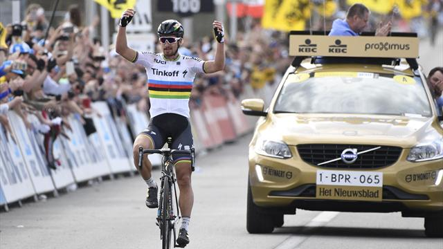 Supreme Sagan wins 100th Tour of Flanders