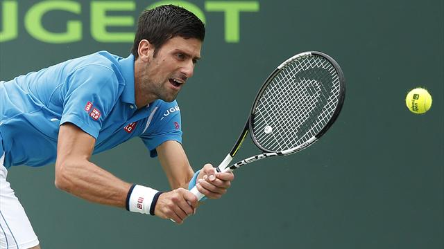 Djokovic tritura a Nishikori y supera a Nadal en Masters 1000  (6-3, 6-3)