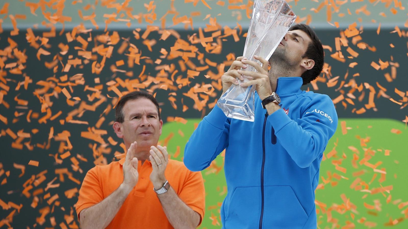 900 Novak Djokovic Cruises Kei Nishikori