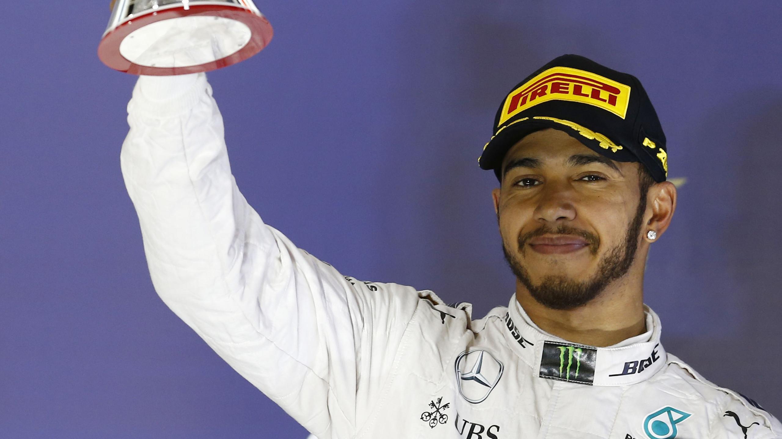 Lewis Hamilton (Mercedes) au Grand Prix de Bahreïn 2016