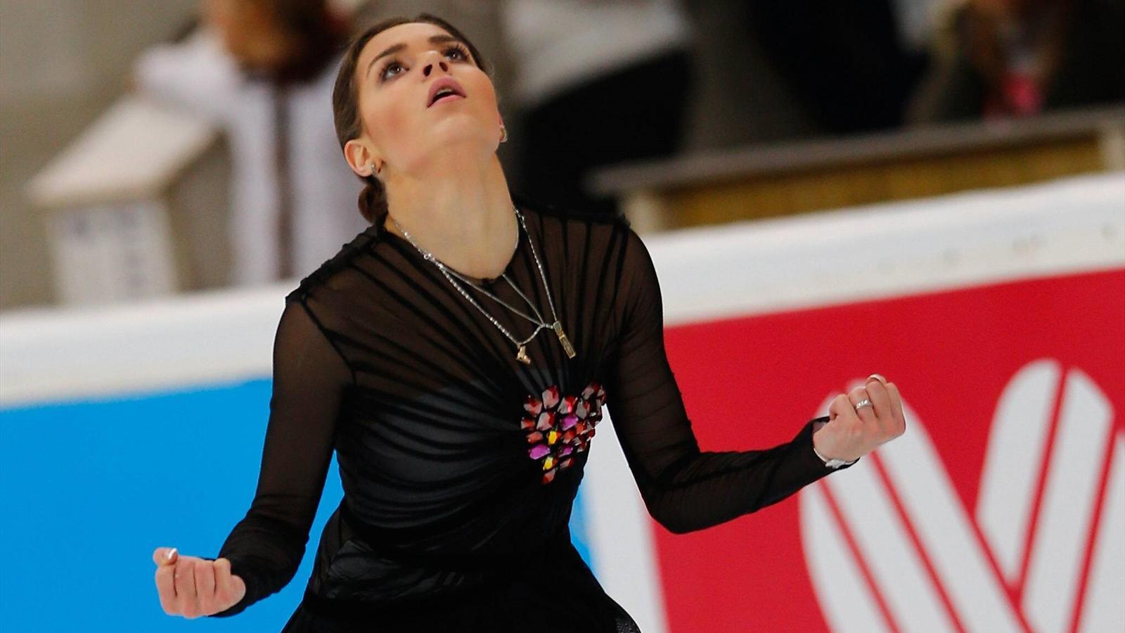 Фигуристка чемпионка олимпиады 2014