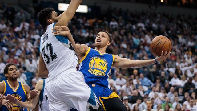 Nba: Warriors vittoriosi sugli Spurs, disastro Bulls e Rockets