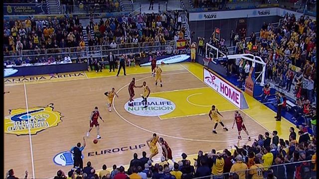 Gran Canaria - Galatasaray Odeabank: 94-81 (Maç özeti)