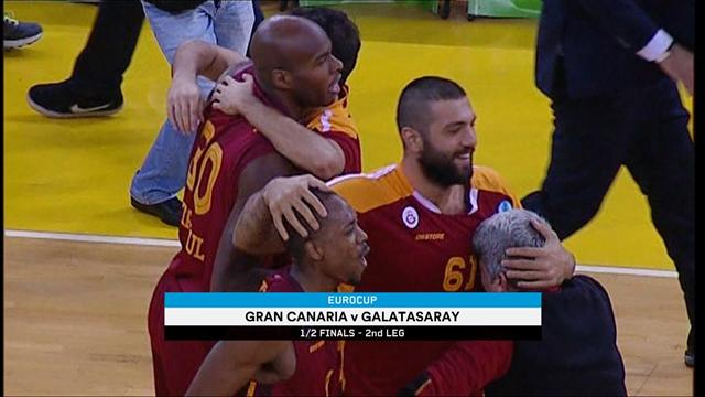 Eurocup semi-finals: Galatasaray first Turkish club in final