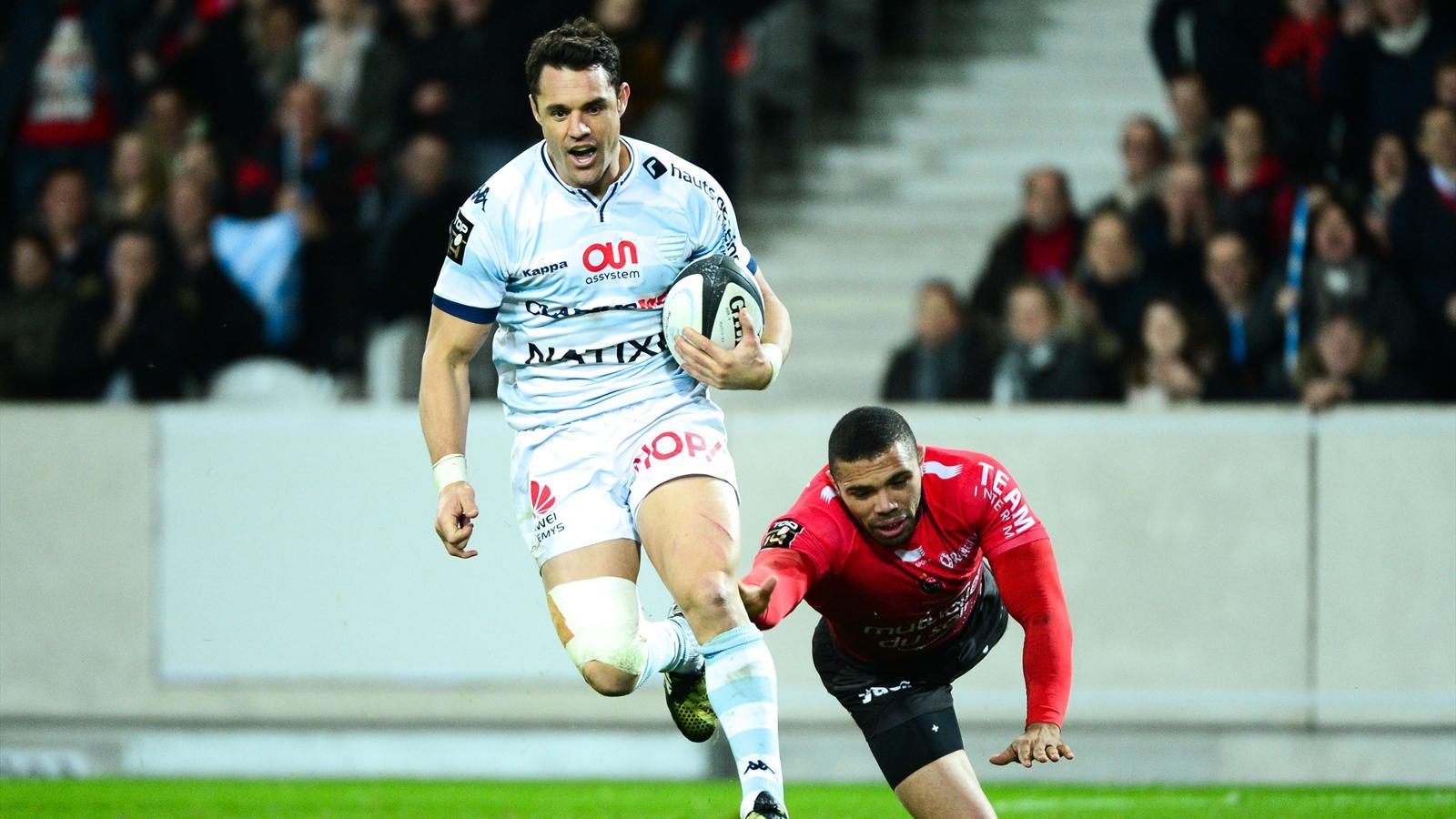 Dan Carter face à Toulon