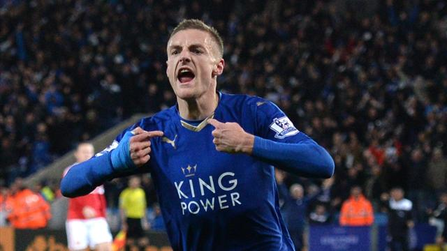 Vardy voted Player of the Year by the Football Writers' Association