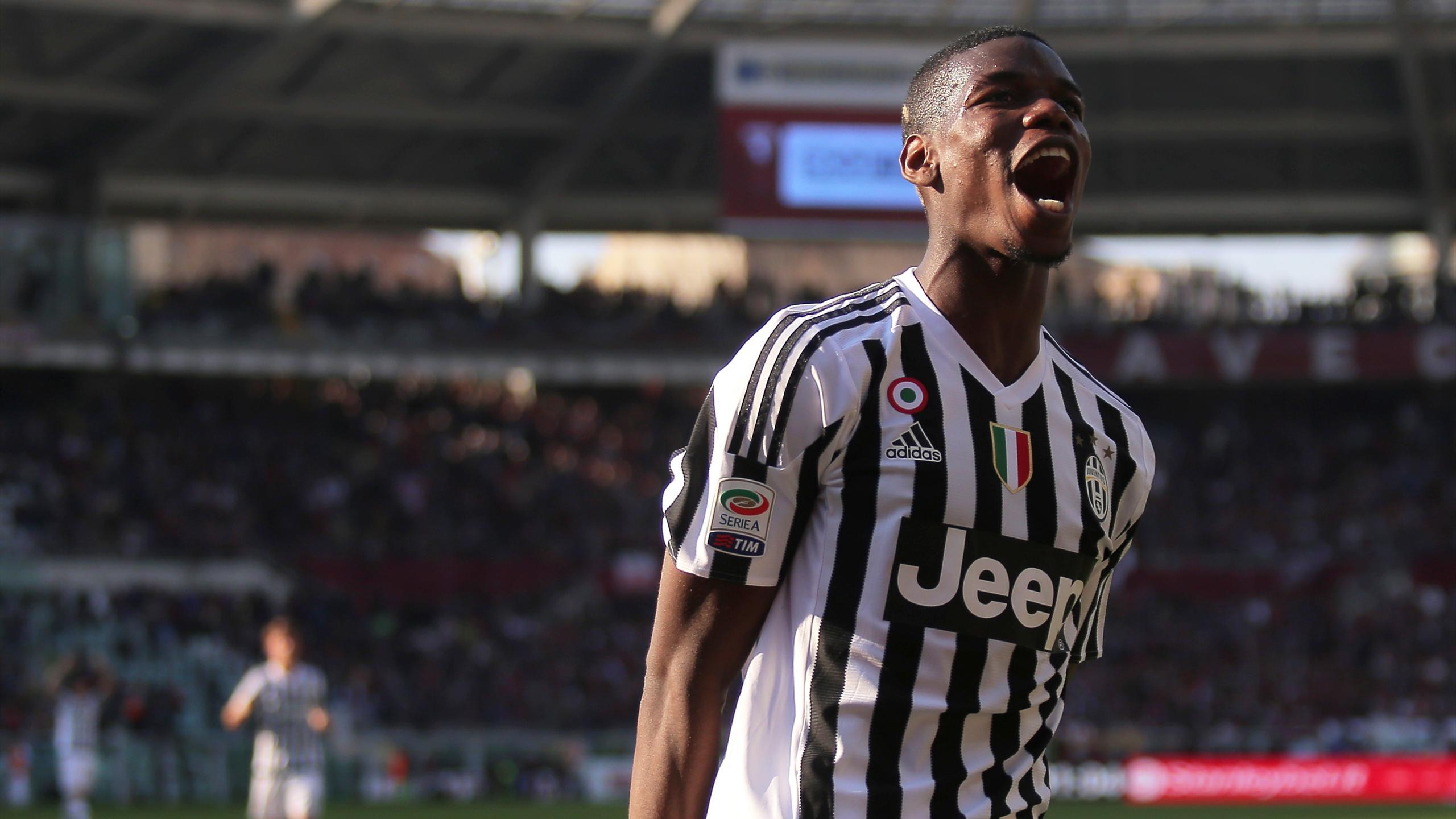 Paul Pogba sous le maillot de la Juventus Turin