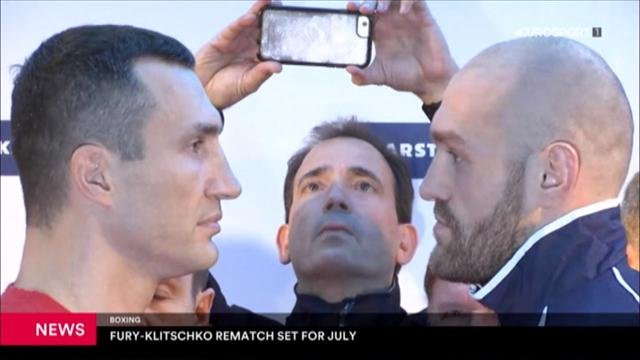 Klitschko bekommt Revanche gegen Fury im Juli