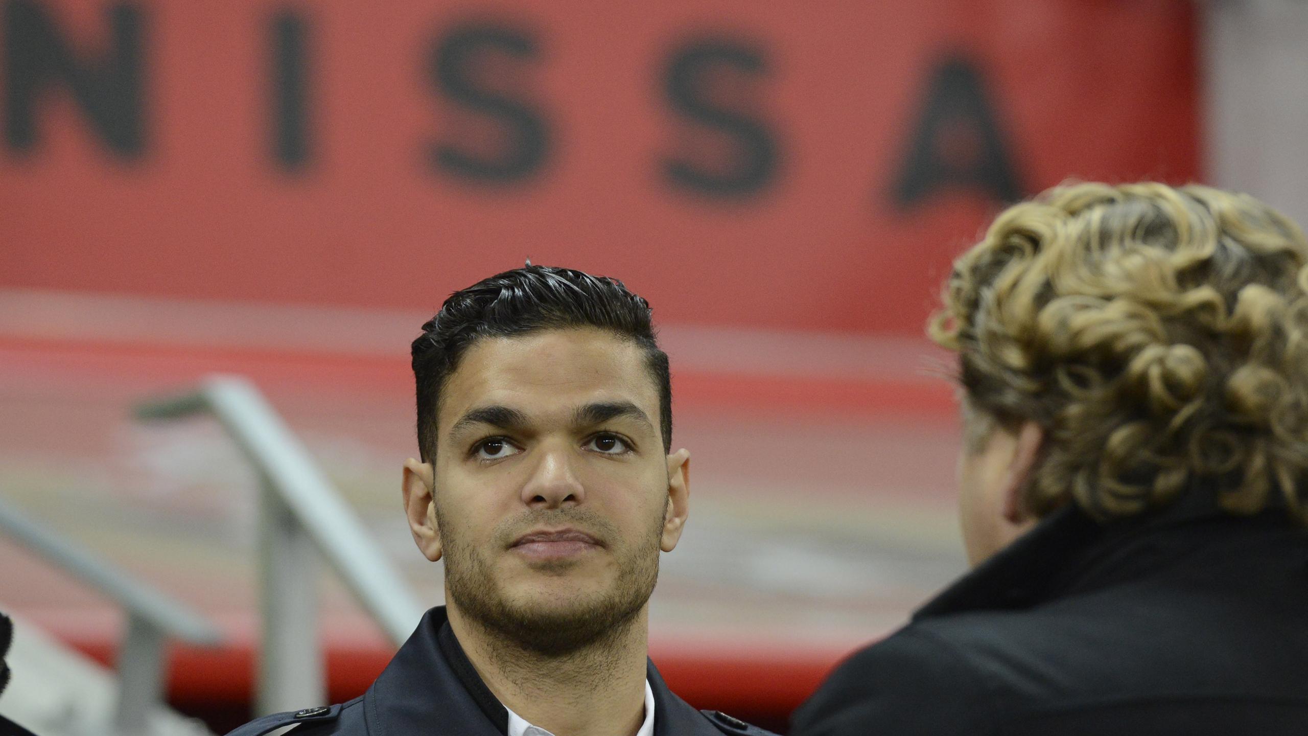 Hatem Ben Arfa à l'Allianz Rivera