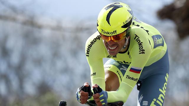Vuelta al País Vasco: Alberto Contador gana en Éibar y se lleva la general