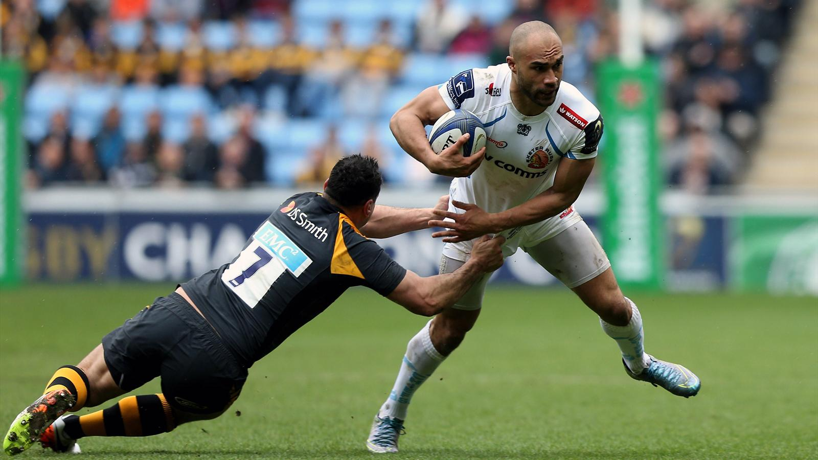 Olly Woodburn (Exeter) face aux Wasps - 9 avril 2016