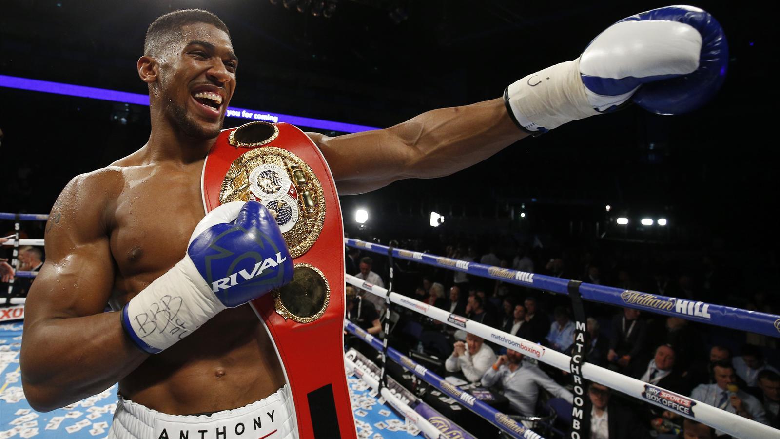 Ruthless Joshua claims IBF world heavyweight crown - Boxing - Eurosport