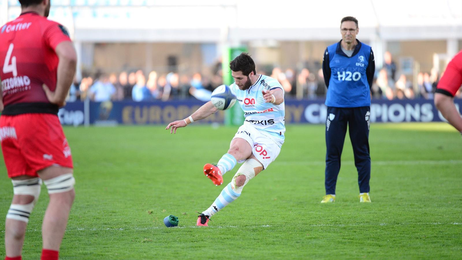Maxime Machenaud (Racing 92) a sanctionné l'indiscipline de Toulon - 10 avril 2016