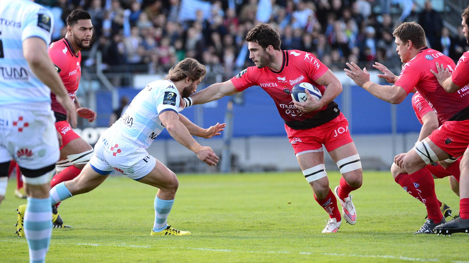 Charles Ollivon (Toulon) face au Racing 92 - 11 avril 2016