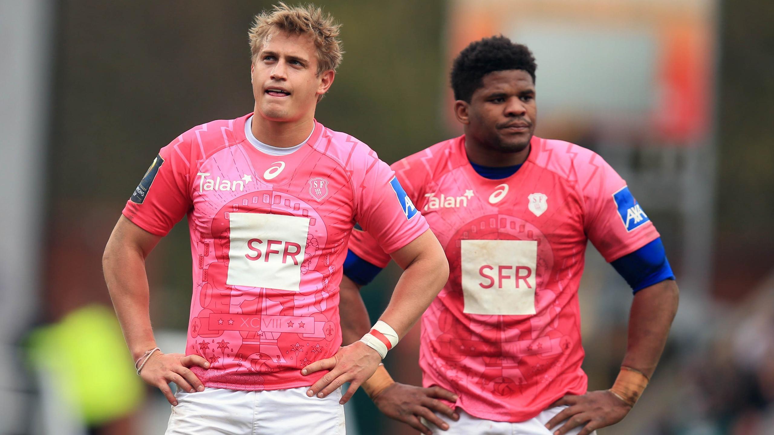 Jules Plisson et Jonathan Danty (Stade français) - 10 avril 2016