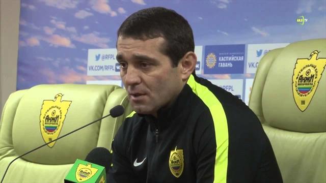 «Анжи» обыграл «Волгарь» и сохранил место в Премьер-лиге