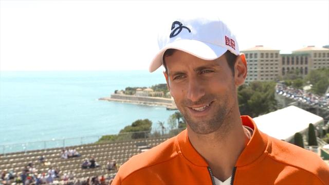 Djokovic: I feel happy and relaxed in Monte Carlo