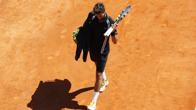 """Sa défaite contre Murray, la """"plus grande désillusion de sa carrière"""" pour Paire"""