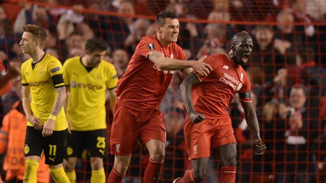 Liverpool renverse Dortmund au terme d'un match de légende