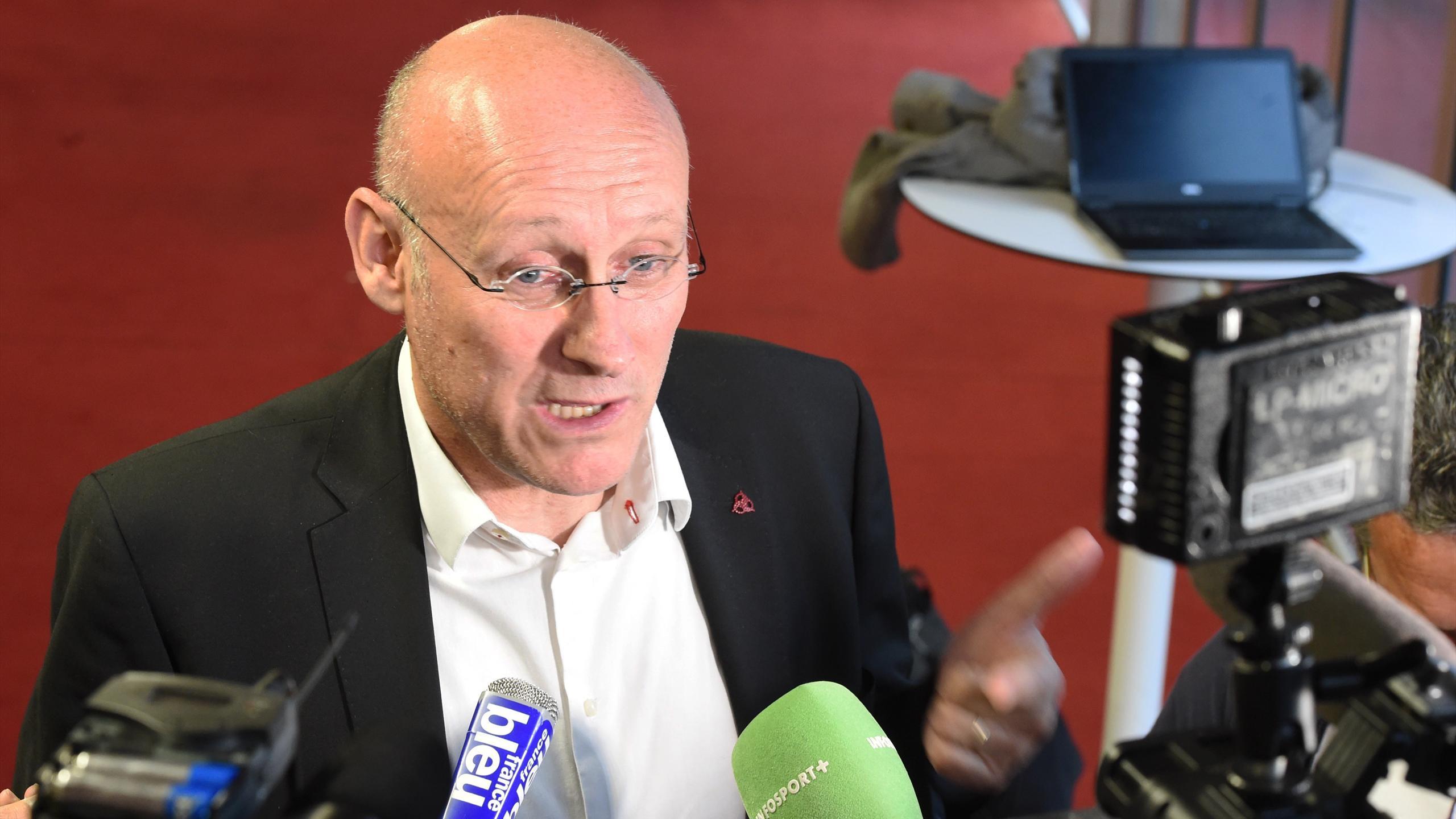 Bernard Laporte, candidat à la présidence de la FFR