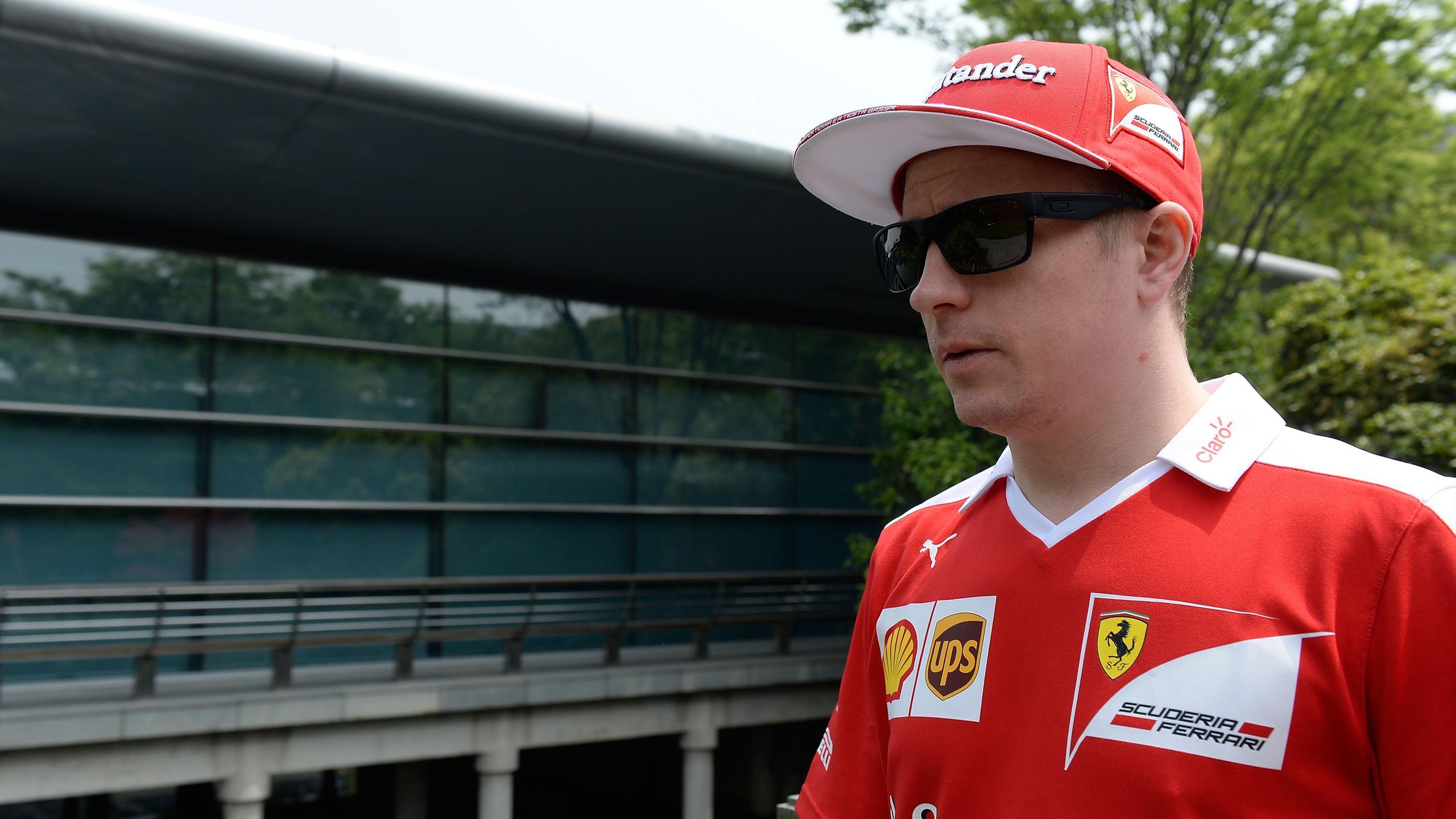 Kimi Räikkönen (Ferrari) au Grand Prix de Chine 2016