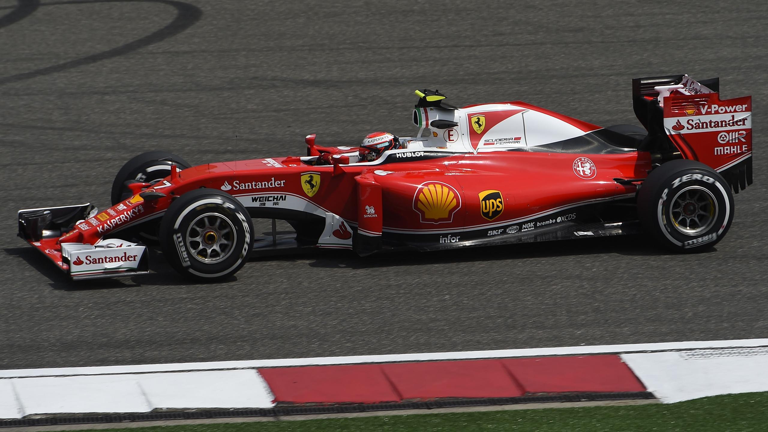 Sebastian Vettel (Ferrari) au Grand Prix de Chine 2016