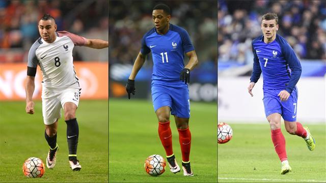 Pour vous, le trio Payet-Martial-Griezmann est l'attaque idéale des Bleus pour l'Euro