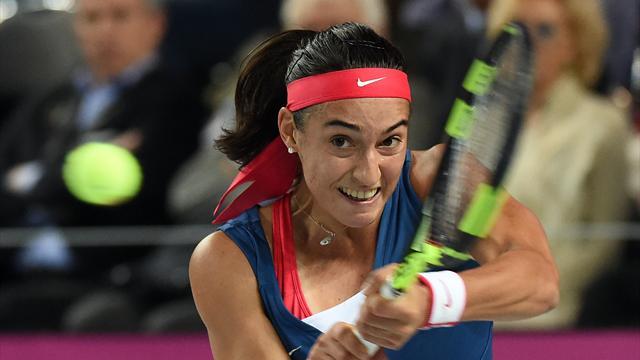 Tennis : Garcia - Hogenkamp EN DIRECT