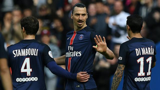 Dans sa course aux records, le PSG n'a pas perdu son temps contre Caen