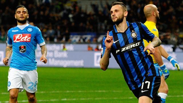 L'Inter assomme Naples et fait le bonheur de la Juve
