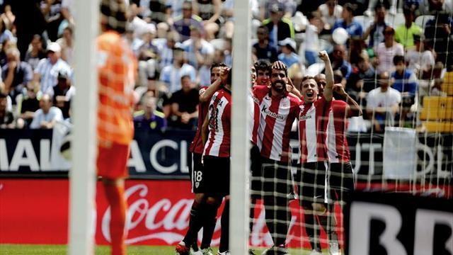 0-1. Athletic supura la herida de Sevilla con un triunfo ante un Málaga romo