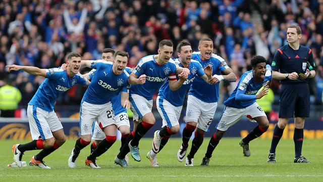 Rangers beat­ Celtic in thrilling Scottish Cup semi-final shoot-out
