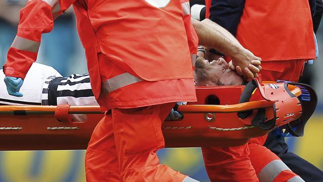 Dramma Marchisio, si rompe il crociato: addio a Euro 2016
