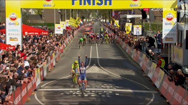 Amstel Gold Race: Inesperada y emotiva victoria de Enrico Gasparotto