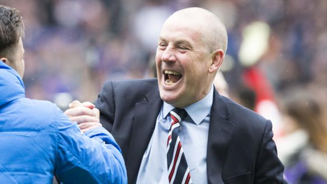 We proved critics were wrong to write us off, says Rangers boss Warburton