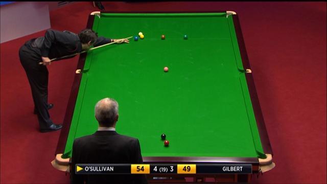 4 banttan snooker çözüp snooker bırakmak: Ronnie O'Sullivan