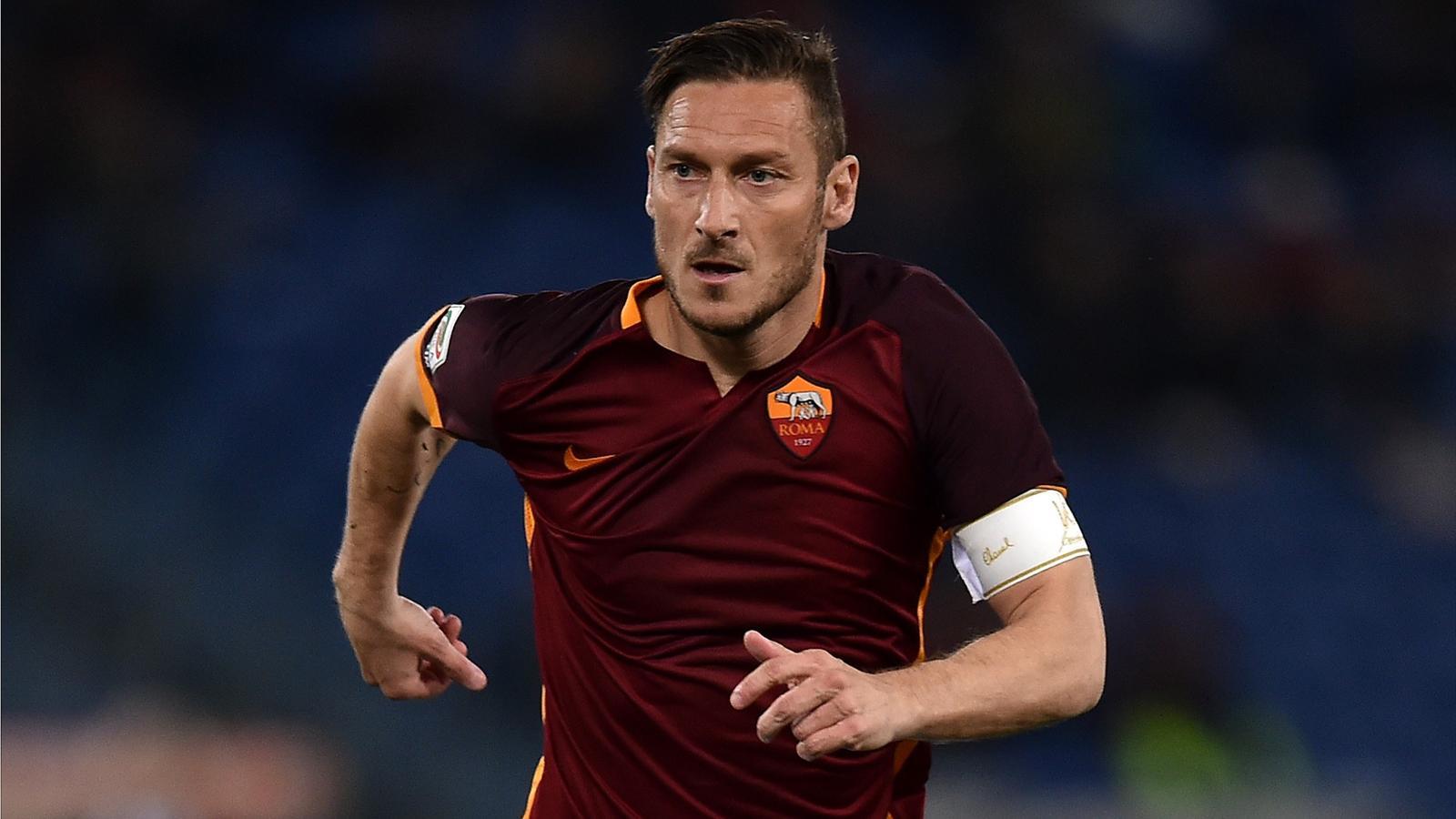 Francesco Totti jouera bien sa dernière saison en 2016 ...