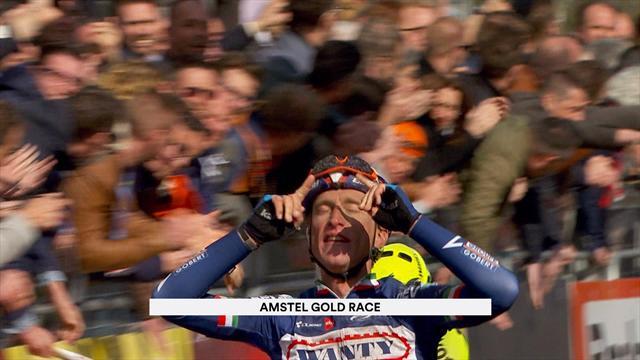 Enrico Gasparotto wins Amstel Gold Race