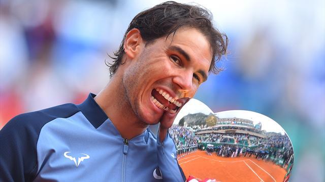 9e titre à Monte-Carlo, 28e Masters 1000... Nadal a rentabilisé sa 100e finale