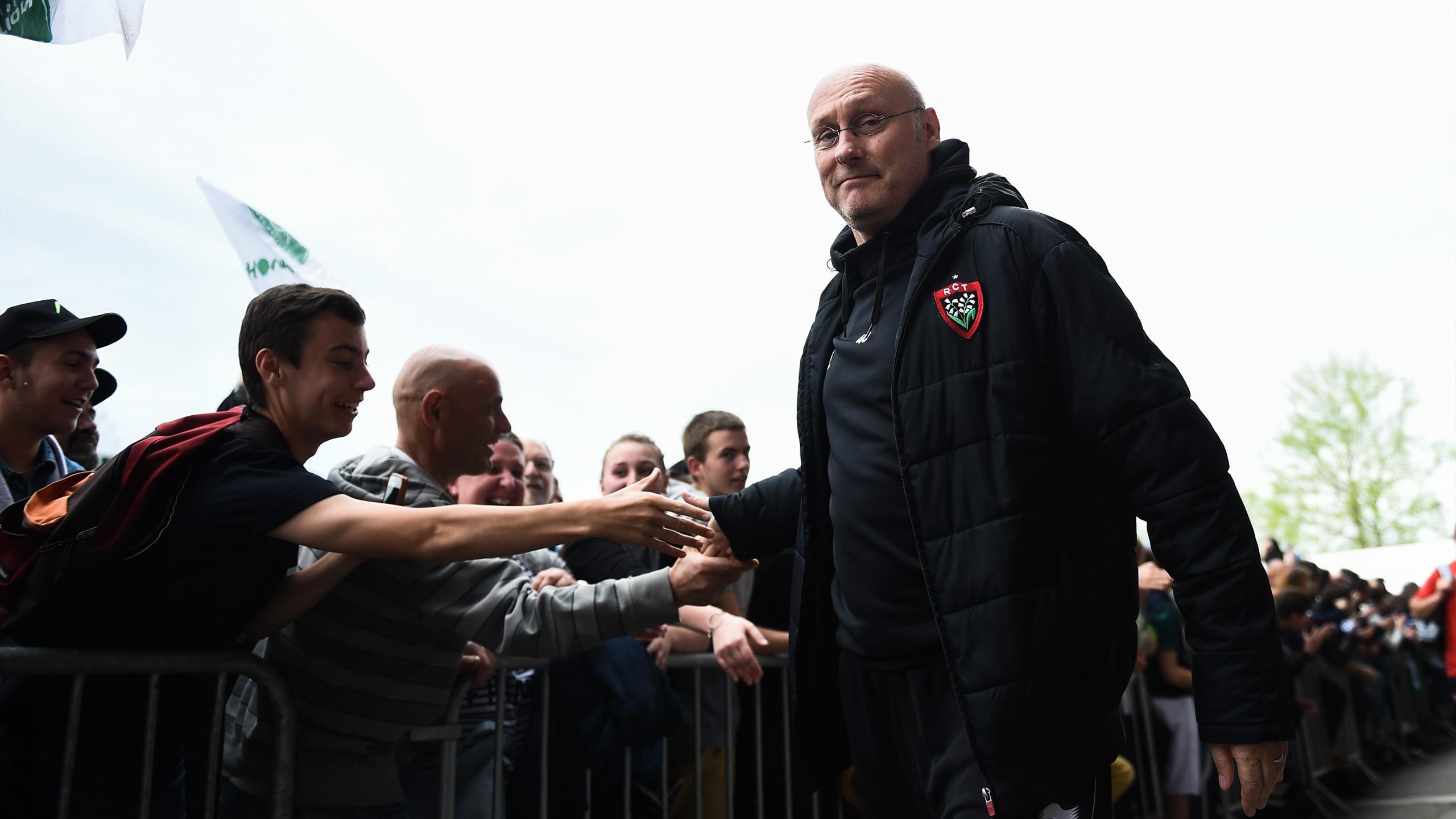Bernard Laporte (Toulon) - 16 avril 2016