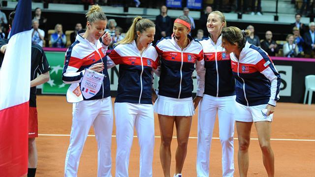 Tennis : Onze ans apr�s, la France retrouve la finale