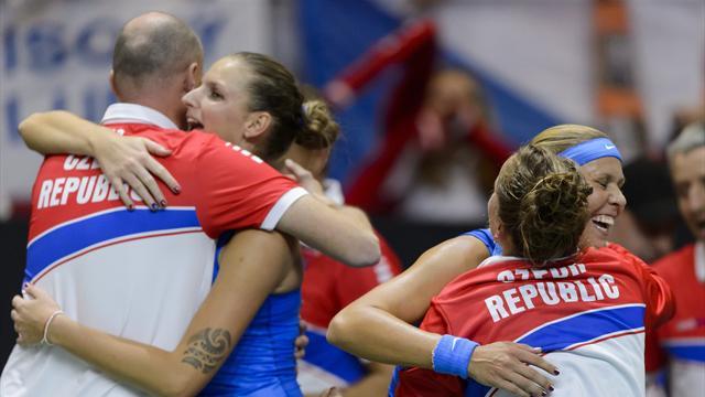 Франция и Чехия встретятся в финале Кубка Федерации