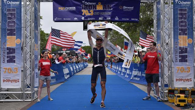 Starykowicz and Piampiano win IM 70.3 New Orleans