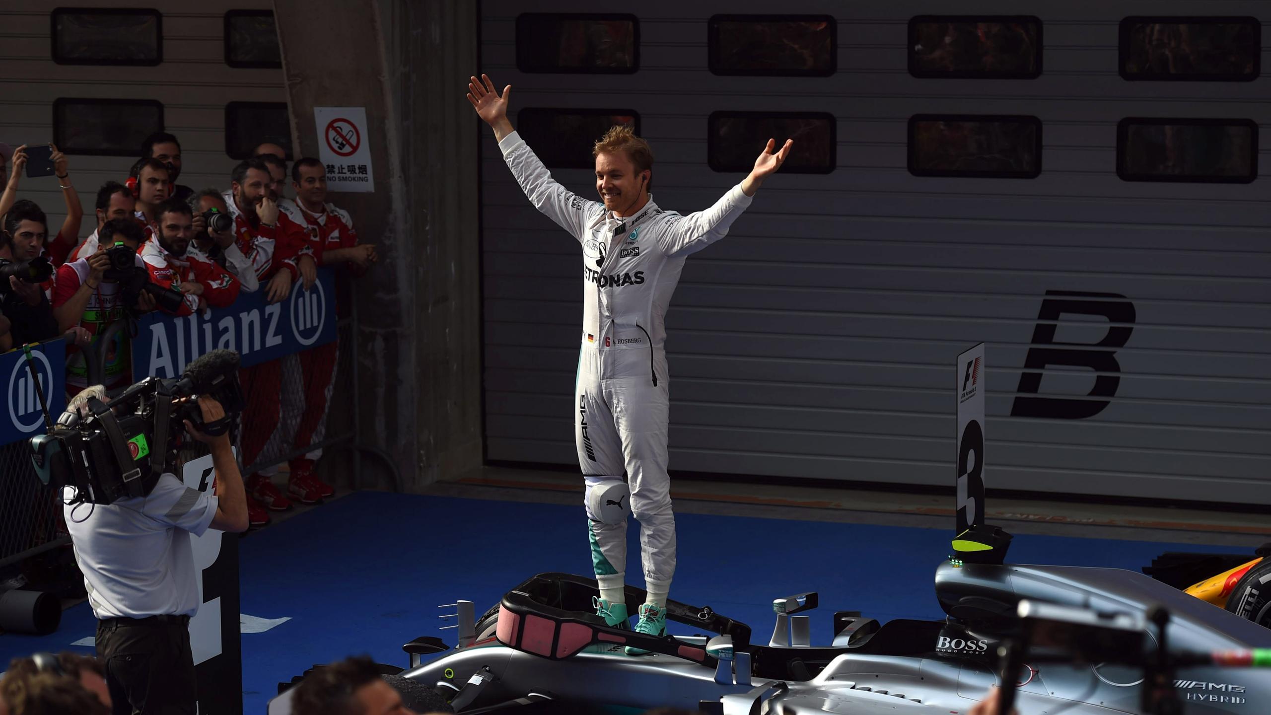 Nico Rosberg (Mercedes) - GP of China 2016