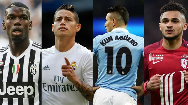 Associé à Pogba, James et Agüero, Boufal a gagné sa place parmi les grands