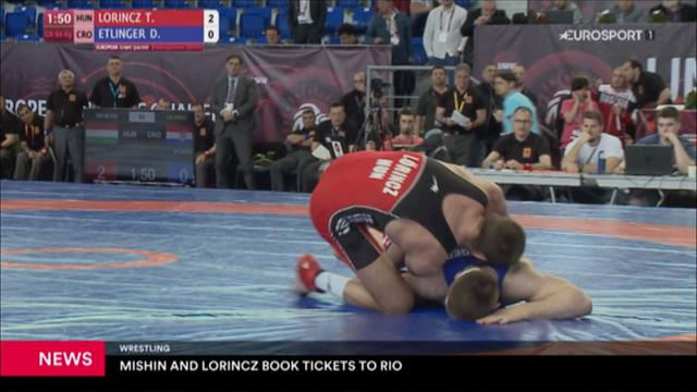 Wrestlers book tickets for Rio 2016
