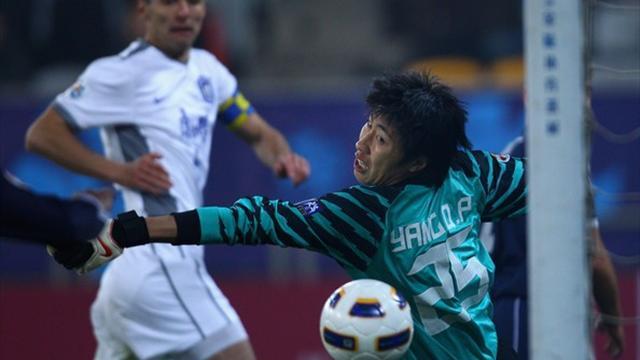 Китайский вратарь включил режим бога и сделал 3 сэйва за 6 секунд