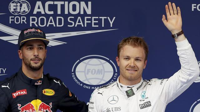 Ricciardo: It's awkward on the podium with Rosberg and Hamilton